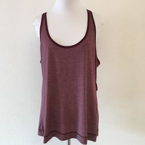 Lululemon Burgundy T Shirt Size 6